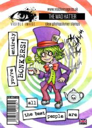 Visible Image Clear Stamp Set - Wonderland - The Mad Hatter